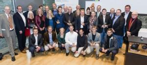 Alle anwesenden Preisträger des deutschen Solarpreises 2014 (Foto: Daniel Schmitt)