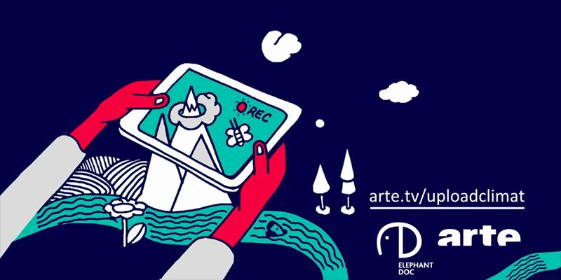 arte.tv Doku zum Klimawandel (Illustration von Ubian)