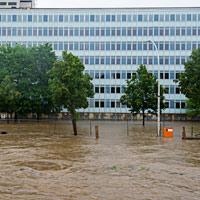 Klimafolgen wie Hochwasser