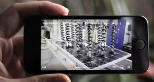 Internetvideos lassen sich auch unterwegs konsumieren