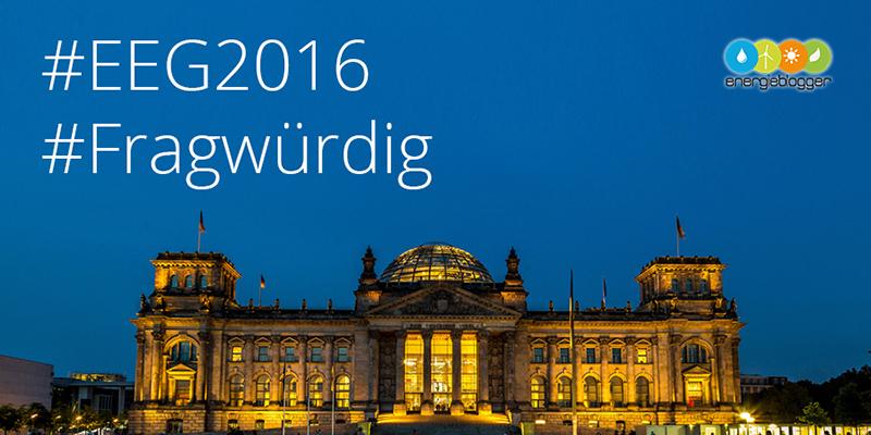 Reichstag Berlin - #EEG2016 fragwürdig