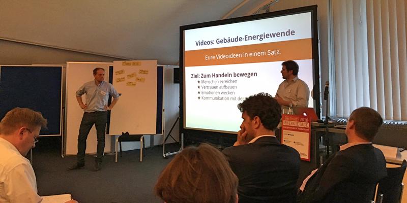 Vortrag Videoideen zur Gebäude-Energiewende