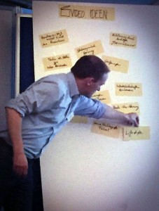 Energieblogger Andreas Kühl notiert Ideen vom Open Table
