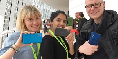 Teilnehmer*innen Barcamp